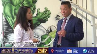 5th Mr UK Nepal Championship Promotion