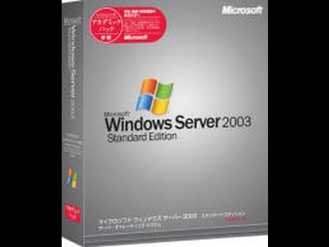 Tema2 - Instalacion Windows 2003 Server Standard Edition