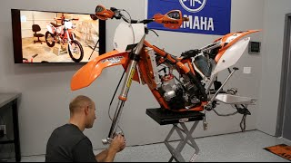 9. Installing Suspension - KTM 300