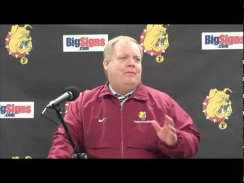 Bob Daniels Post Game Press Conference 11/19/10