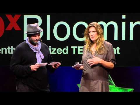 "Video | TEDxBloomington : Marc and Sara Schiller ""Gaming The Streets: Uncommissioned Art"""