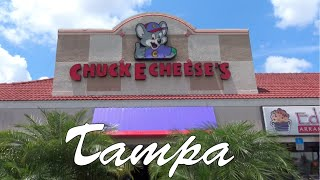 Chuck E. Cheese's Tampa Carrolwood Store Tour