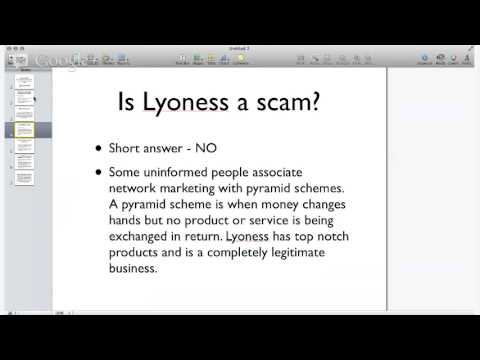 """What is Lyoness USA? Is Lyoness a scam? """"Google Hangout with Adam Chandler"""""""