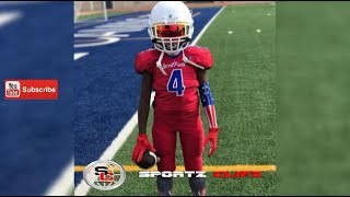 Video Jaylen JigStick Huff | 8U Laced Facts | Youth Football Experience | Skills Drills MP3, 3GP, MP4, WEBM, AVI, FLV Desember 2018