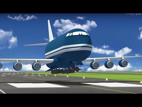 The Airport Diary - Episode 58 - Bigger and Winky - Best animation for kids
