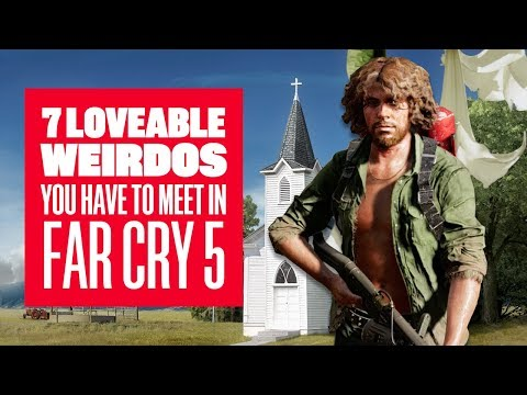 7 Loveable Weirdos You Have To Meet in Far Cry 5 - Far Cry 5 Gameplay