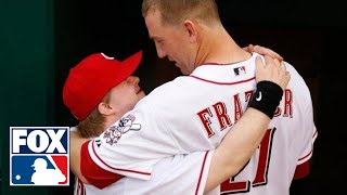 Inspirational story about Reds' bat boy with down syndrome