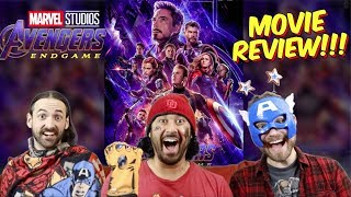 AVENGERS: ENDGAME - MOVIE REVIEW!!! by The Reel Rejects