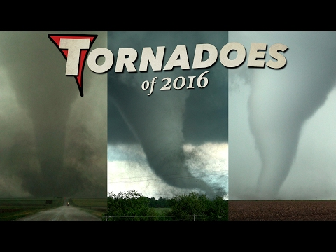 TORNADOES of 2016 - An Incredible Year in 4K! (видео)