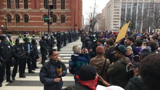 Historian Doris Kearns Goodwin on anti-Trump protests