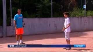 Le Bouscat France  city images : Jeunes espoirs du tennis au club du Bouscat en Gironde