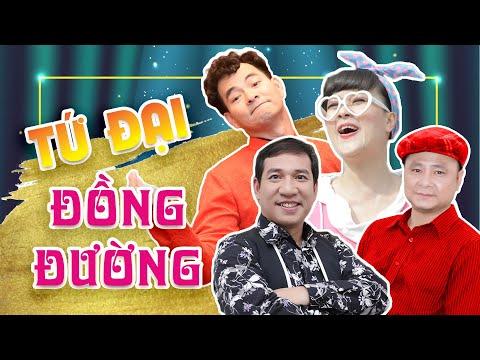 Tứ Đại Đồng Đường || Xuân Bắc, Tự Long, Quang Thắng, Vân Dung || Hài Tết 2019 - Thời lượng: 54 phút.