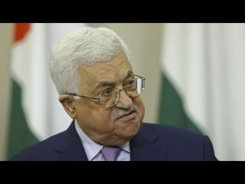 Palestinian leaders talk peace process ahead of Trump visit