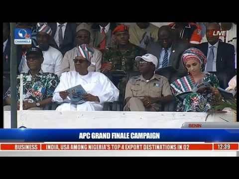 How Obahiagbon Welcomed Buhari At Edo State APC Rally