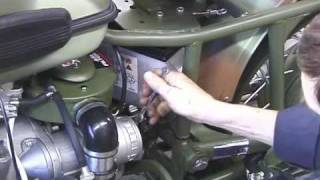 7. Ural 750 Battery Inspection