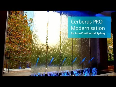 Fire protection for InterContinental Sydney with Cerberus PRO