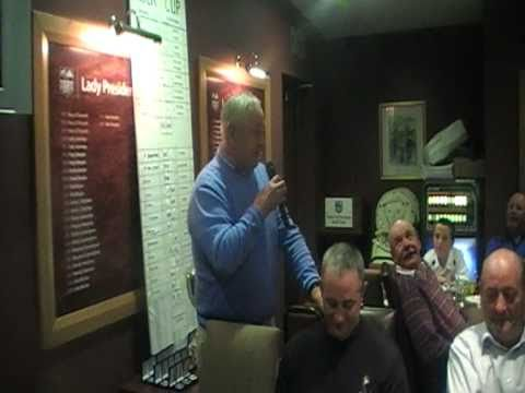 George Doherty's Rider Cup Speech 2010