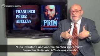 Francisco Pérez Abellán, autor de 'Prim, la momia profanada'. 12-12-2014