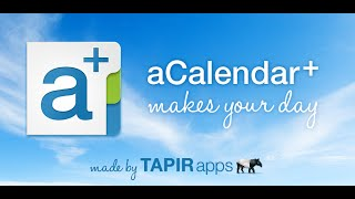 aCalendar+ Calendar & Tasks YouTube video