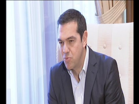 Διπλωματικές και εμπορικές σχέσεις στο επίκεντρο της συνάντησης Τσίπρα-Ντούντα