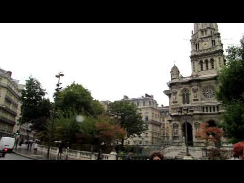Walk past the Place d'Estienne d'Orves in Paris