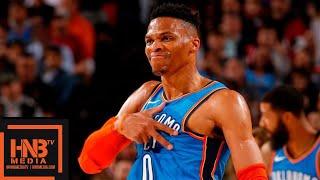 Oklahoma City Thunder vs Portland Trail Blazers Full Game Highlights | March 7, 2018-19 NBA Season