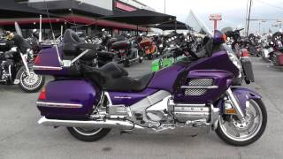 6. 101115 - 2002 Honda Goldwing GL1800 ABS - Used motorcycles for sale