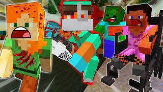 ALEX ESCAPE EVIL Doctor's HAUNTED Hospital - MINECRAFT STEVE AND ALEX [225]