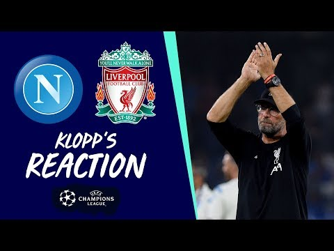 Video: Klopp's reaction: 'It was intense, both teams fought hard' | Napoli vs Liverpool