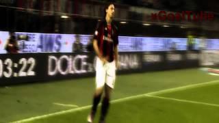 Zlatans Tore für den AC Milan (2010-2012)