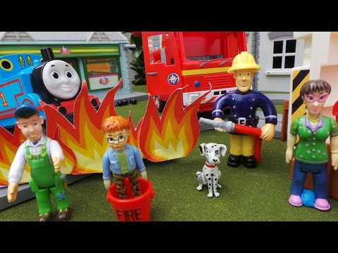 Fireman Sam - The Thomas the Tank Engine Coal Fire Disaster Episode