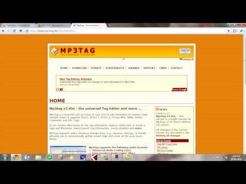 mp3tag tutorial