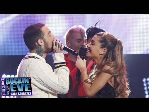 Ariana Grande, Mac Miller - The Way (Live at Dick Clark's New Year's Rockin' Eve) HD