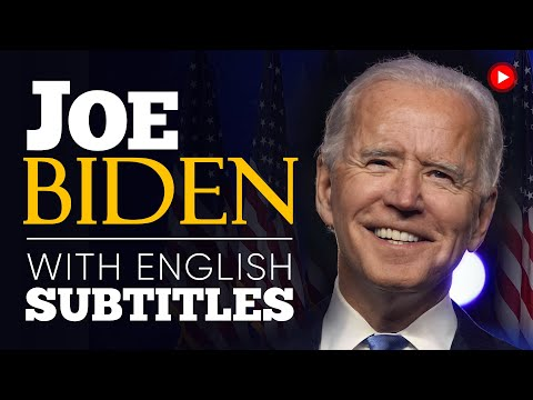 ENGLISH SPEECH | JOE BIDEN: Victory Speech (English Subtitles)
