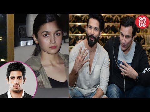 Alia Bhatt Visits Beau Sidharth Before Heading To