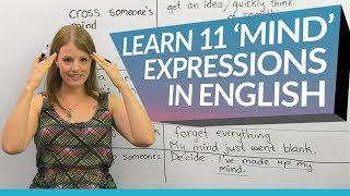 Video Learn English: 11 'mind' expressions MP3, 3GP, MP4, WEBM, AVI, FLV Juli 2018