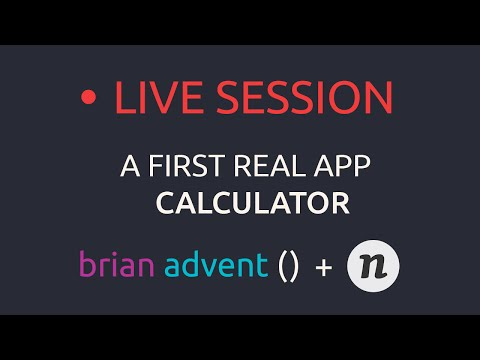 Live Stream: Creating your first iOS App