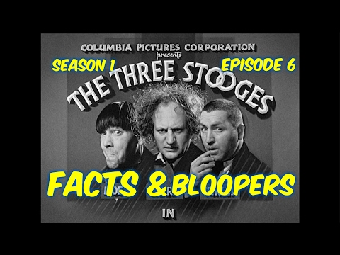 """Season 1 Ep. 6--The Three Stooges--""""Restless Knights""""--BLOOPERS, FACTS, and MORE!!"""