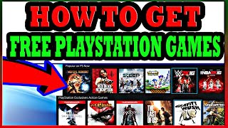 How To Get FREE Playstation 4 Games in 2019 - Playstation Games 100% Free
