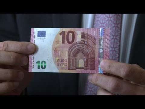 Euro - The European Central Bank announced that the new 10-euro banknote will start circulating. Duration: 00:54.
