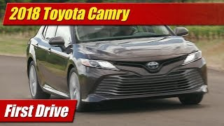 We get our first test drive in the all-new 2018 Toyota Camry to test its new powertrains and chassis on the back roads of Portland wine country. Full first review inside and out.Photo gallery and text: http://testdriven.tv/2017/06/first-drive-2018-toyota-camry/Auto news with a reality check! New car, truck, SUV and crossover test drives, reviews and news posted daily!Subscribe: http://www.youtube.com/TestDrivenTVWebsite: http://www.TestDriven.TVFacebook: http://www.facebook.com/TestdriventvTwitter: http://www.twitter.com/testdriventvGoogle: http://www.google.com/+TestDrivenTV