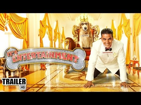 ENTERTAINMENT - Watch the Official Hindi HD trailer of the latest Bollywood Film of 2014, 'Its Entertainment' starring Akshay Kumar & Tamannaah Bhatia. Its 'Bhow'mper... Its...