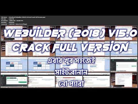 Download WeBuilder (2018) 15.0 incl Crack Full Version