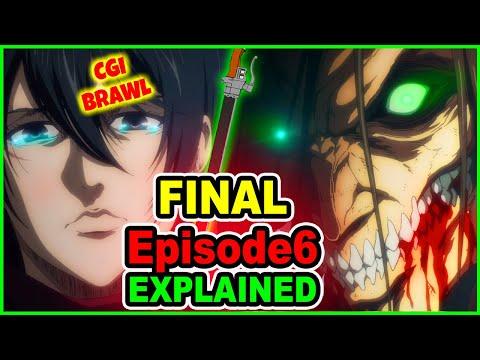 HYPE! Eren Vs WarHammer Titan Explained! Mikasa & Levi Arrive | Attack on Titan Season 4 Episode 6