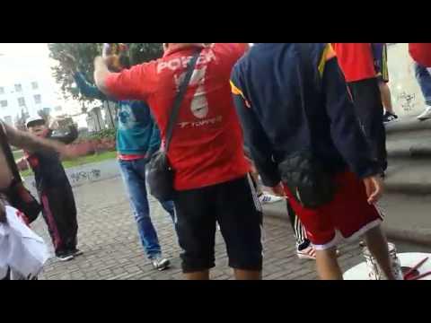 PREVIA AMERICA VS BOGOTA 12-07-2015 - Baron Rojo Sur - América de Cáli