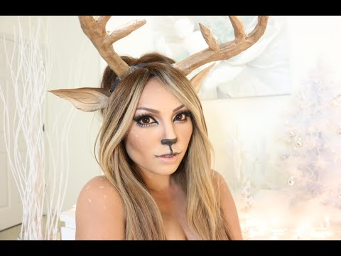 Reindeer Girl Makeup Tutorial