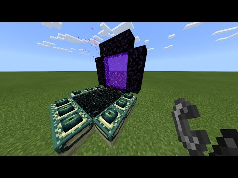 I Combined the Nether and the End in Minecraft...