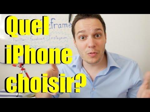 Quel iPhone choisir? - printemps 2017 -