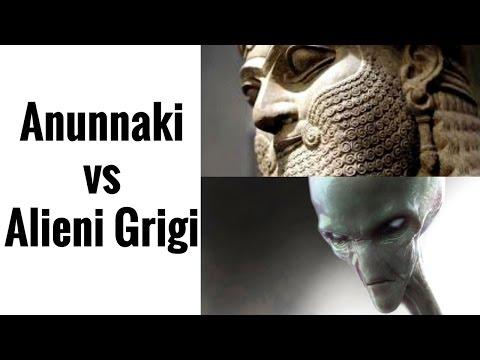 anunnaki contro alieni grigi - scontro totale