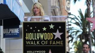 Shakira gets her Hollywood Walk Of Fame Star